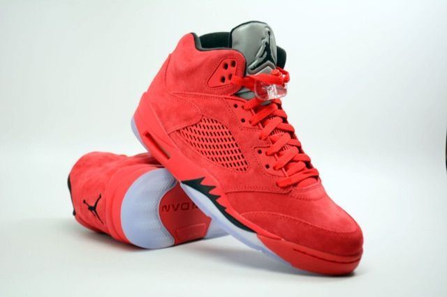"hot sales be93a d115a Air Jordan 5 ""Red Suede"" Coming Soon"