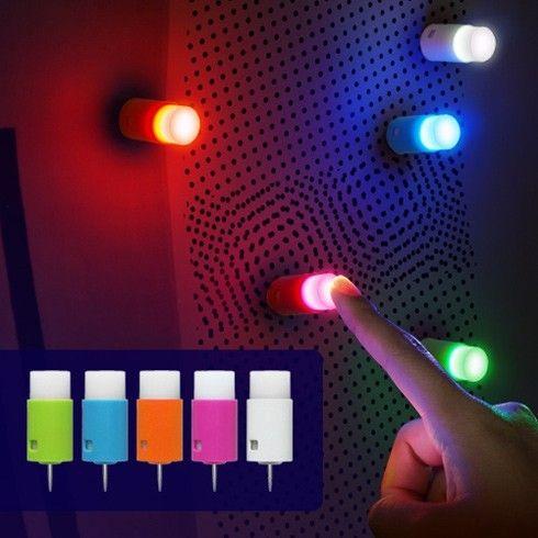Tiny Push Pin LED Light