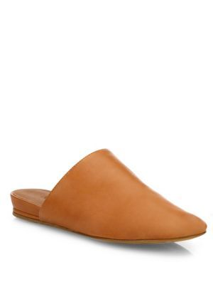 fd68f80f15c VINCE Oren-2 Demi Wedge Leather Mules.  vince  shoes  sandals ...