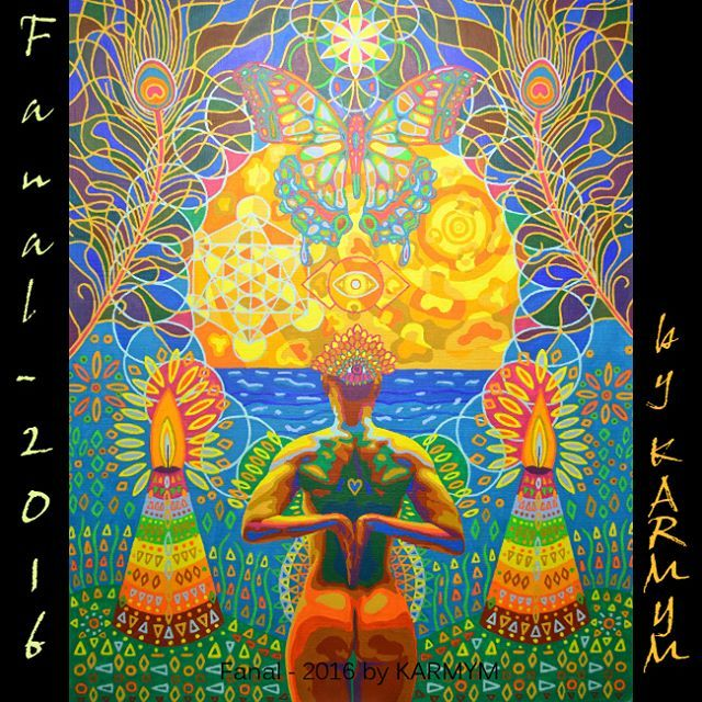 'Fanal - 2016', acrlyic painting from 2016 by #Karmym Nothing is more powerful…