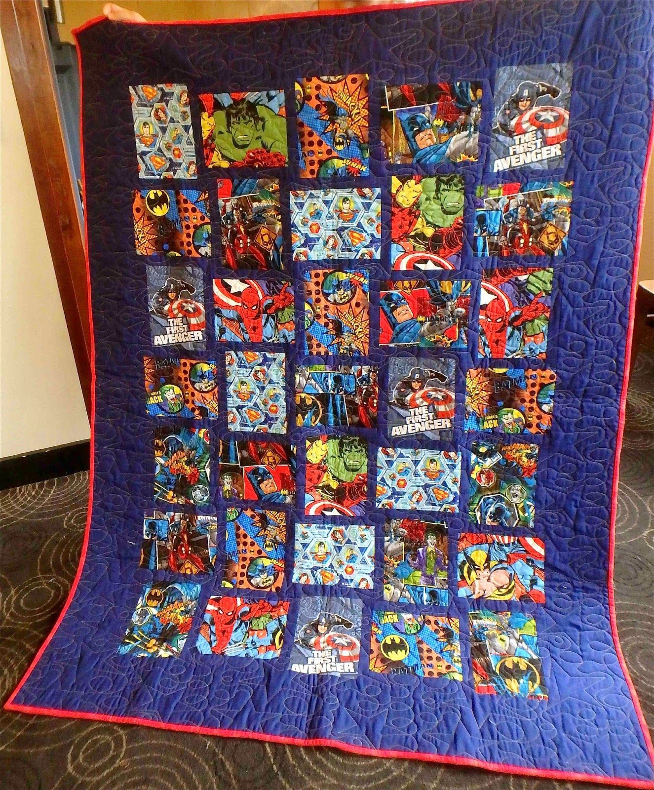 I Spy Quilt, Quilts, Novelty Fabric