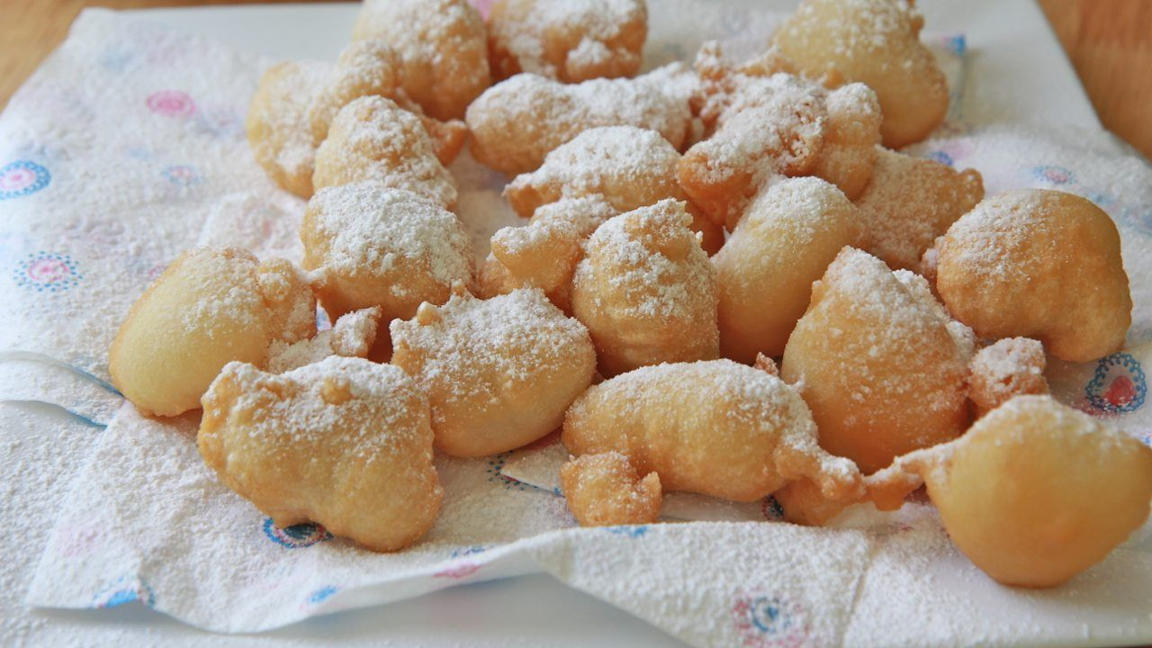 Funnel cake bites recipe funnel cake bites homemade