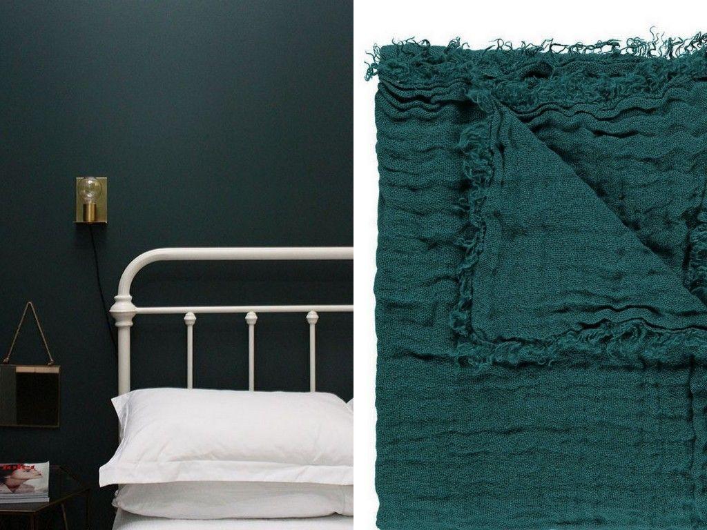 Inspirations Deco En Vert Fonce En 2020 Chambre A Coucher Verte