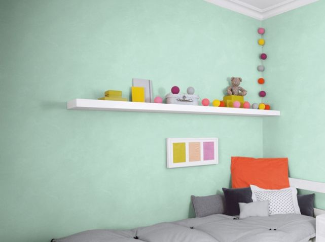 peinture vert d eau id es chambre enfant pinterest. Black Bedroom Furniture Sets. Home Design Ideas