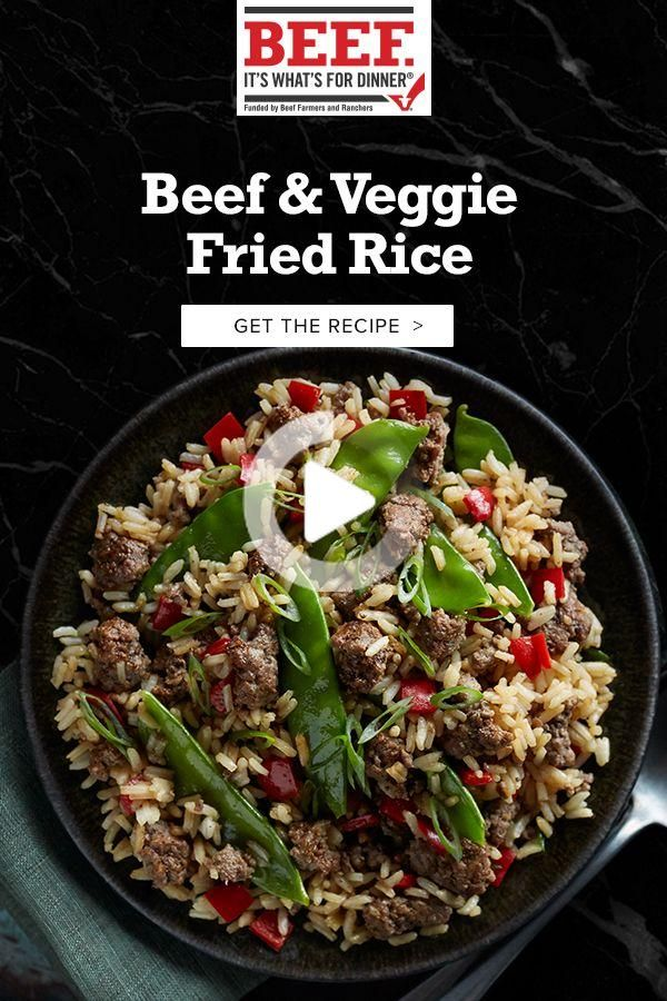Rind & Gemüse Fried Rice