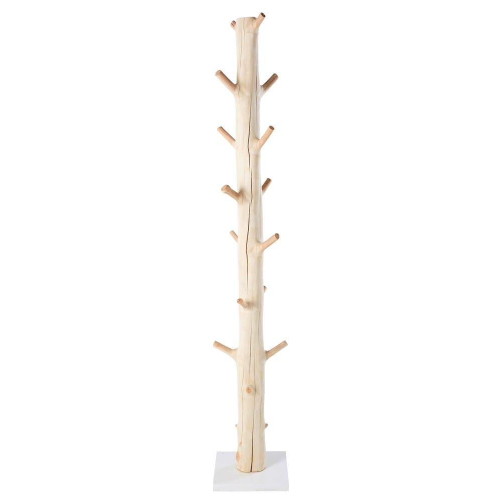 Kleiderstander In Baumstammoptik Aus Mangostanholz