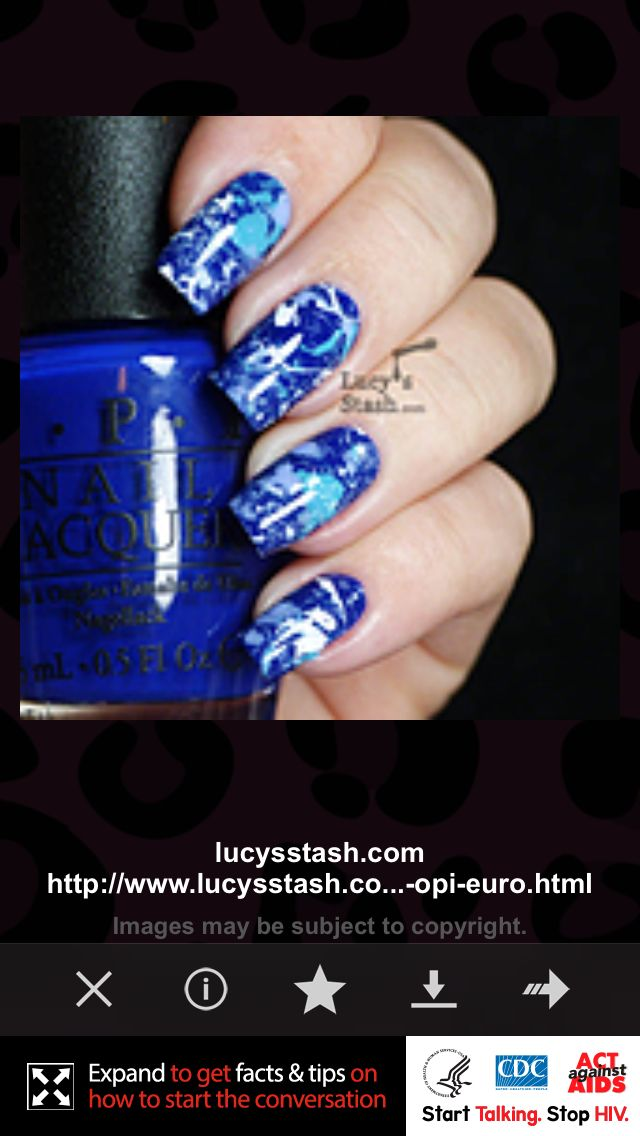 Can You Get Hiv From A Manicure Pin By Maura Mcnaughton On Summer Stuff Splatter Nails Nails Crazy Nail Designs