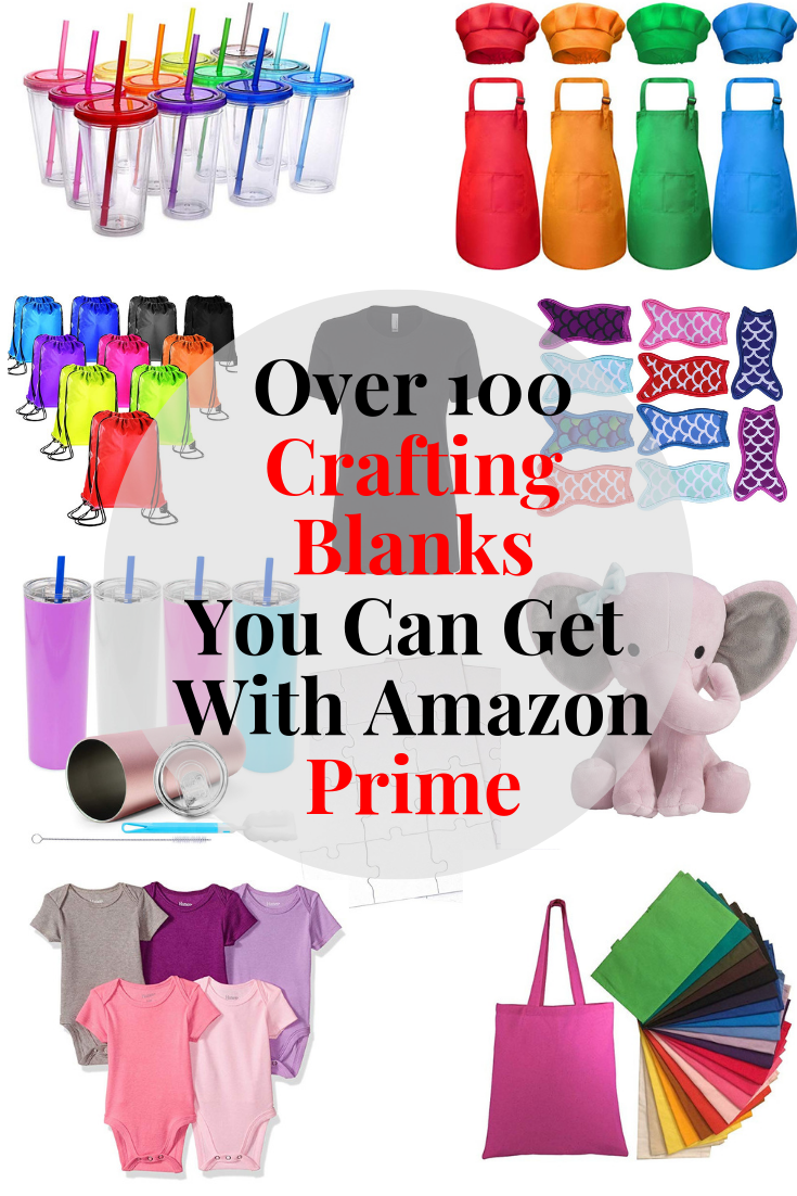 100 Crafting Blanks You Can Get With Amazon Prime - Tastefully Frugal