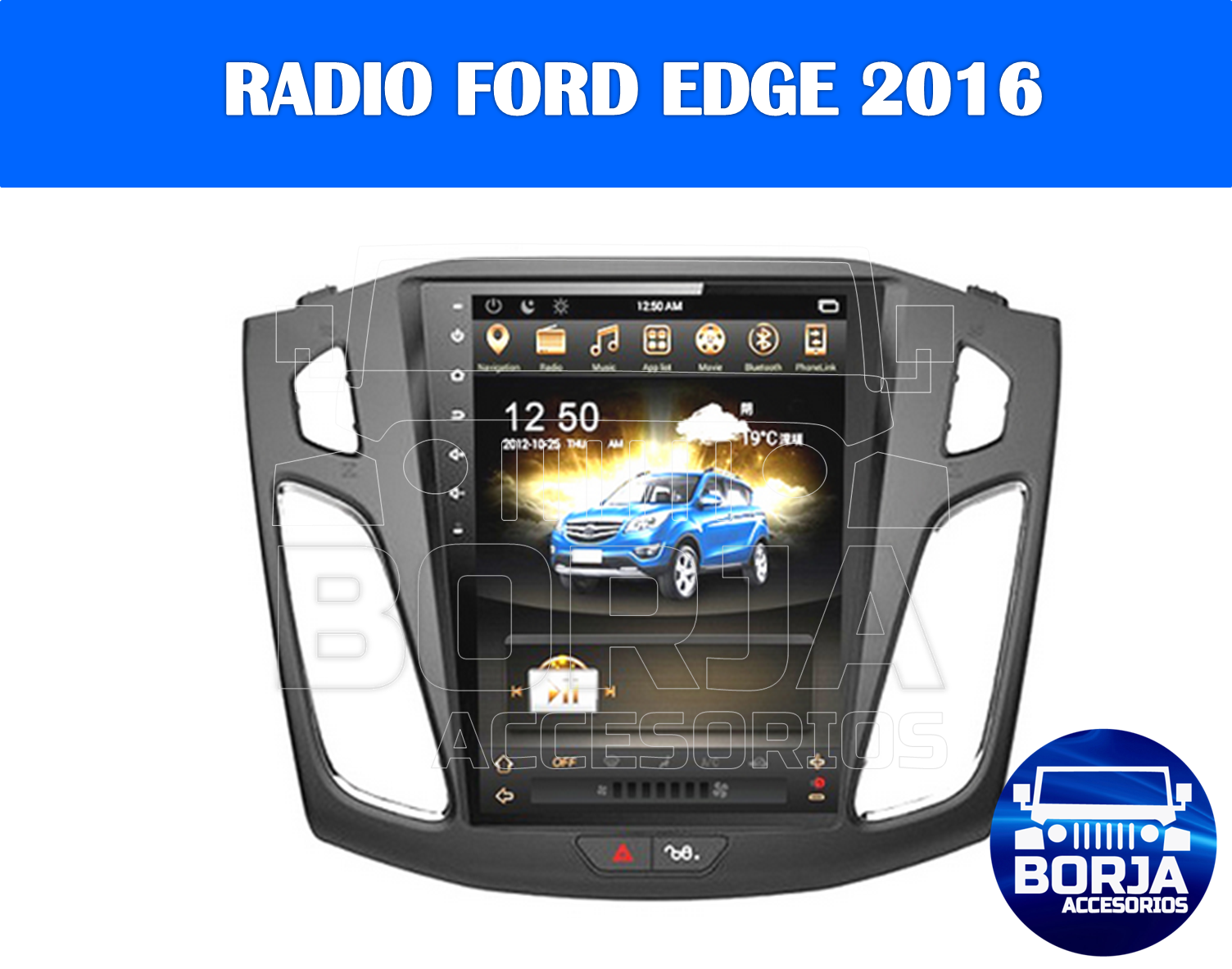 Radio Original Android Ford Edge 2016 Radio Ford Edge Gaming Products