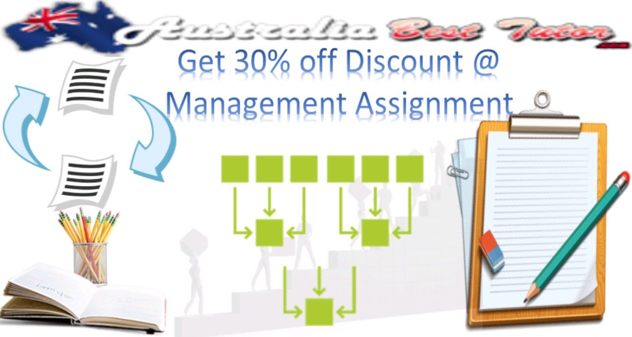 Seek online management assignment help at Australia Best Tutor and complete your academic task assigned to the management subject in the best quality possible. The management experts working with t...