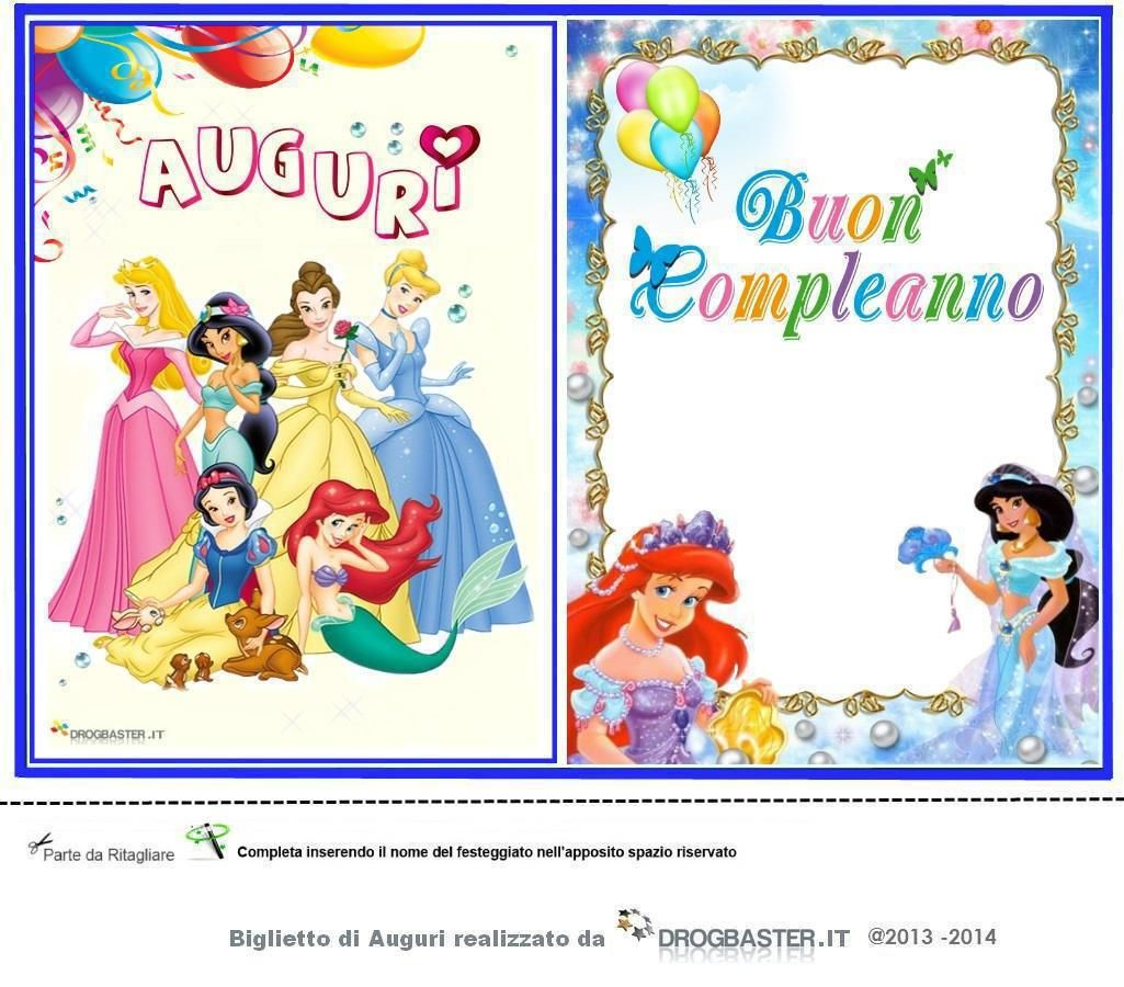 Speciale Biglietto Auguri Di Buon Compleanno Regala Al