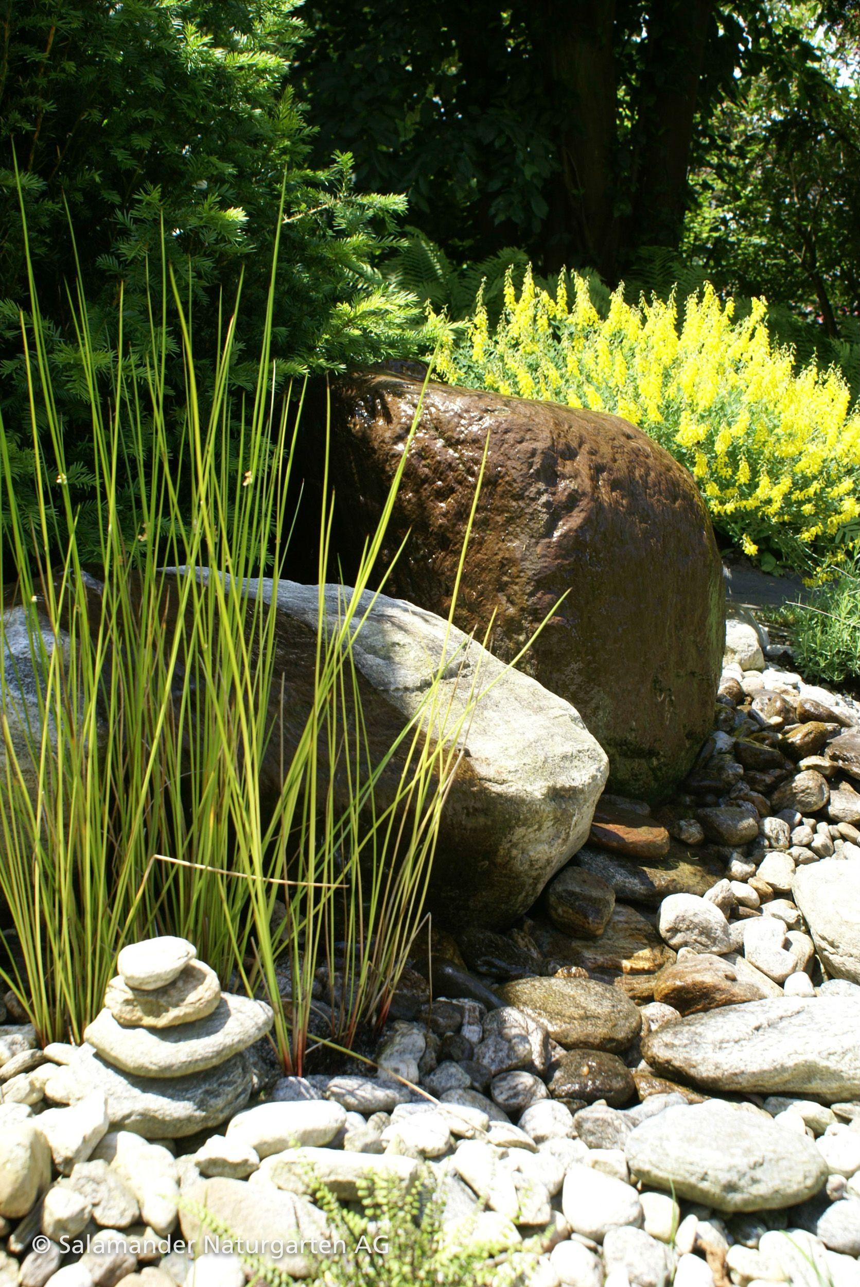 Atemberaubend Quellstein für Wasser im Garten Wechselspiel zwischen Bepflanzung &UC_56