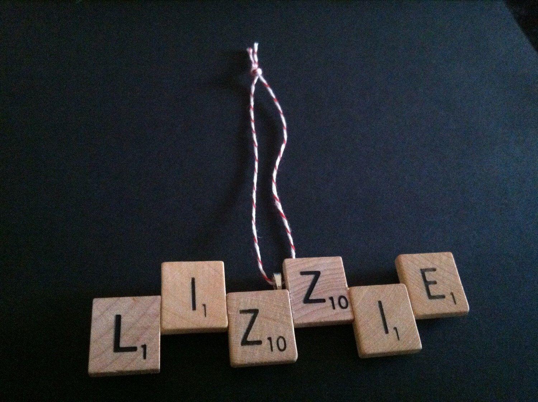 Custom name ornaments - Scrabble Ornament Custom Name Sign Handmade Scrabble Monogram Scrabble Name Sign Hanukkah