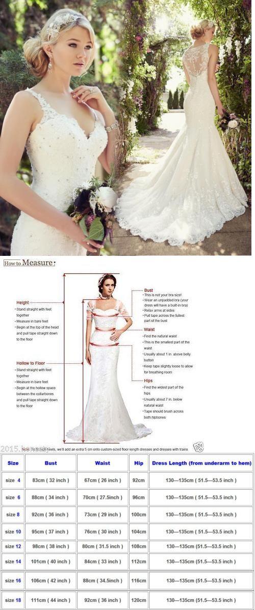 Wedding Dresses: White Ivory Lace Wedding Dress Mermaid Bridal Gown Custom Size 4 - 16 ++ -> BUY IT NOW ONLY: $105 on eBay!