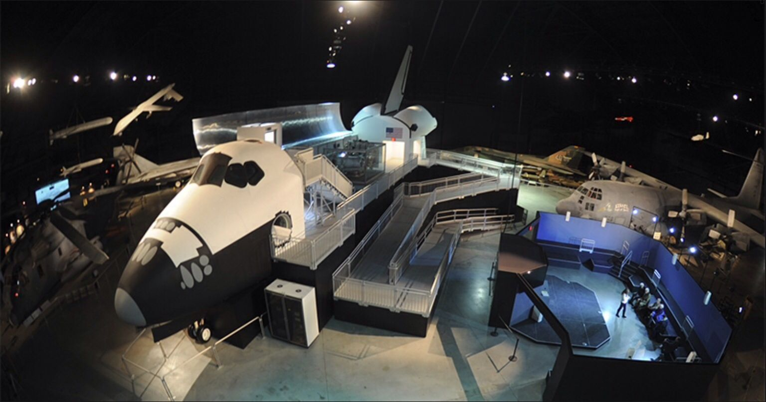 Air Force Space Shuttle Exhibit Ohio vacations, National