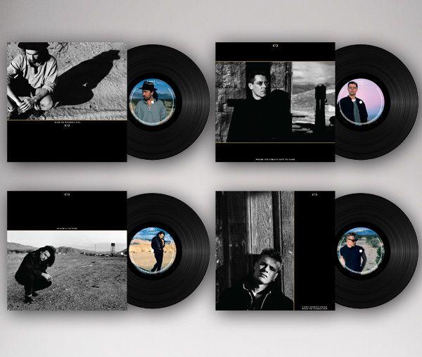 U2 The Joshua Tree Singles Vinyl Collection 1987 & 2017