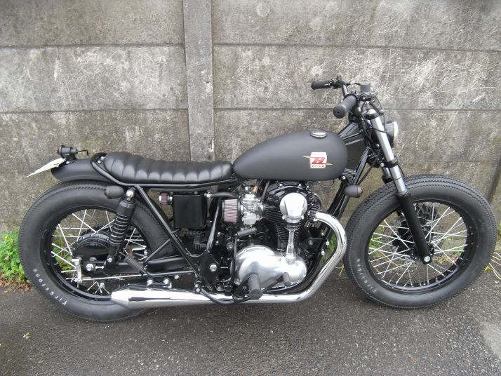 custombikes:  W650's by Brat Style.viaBlood Falcons