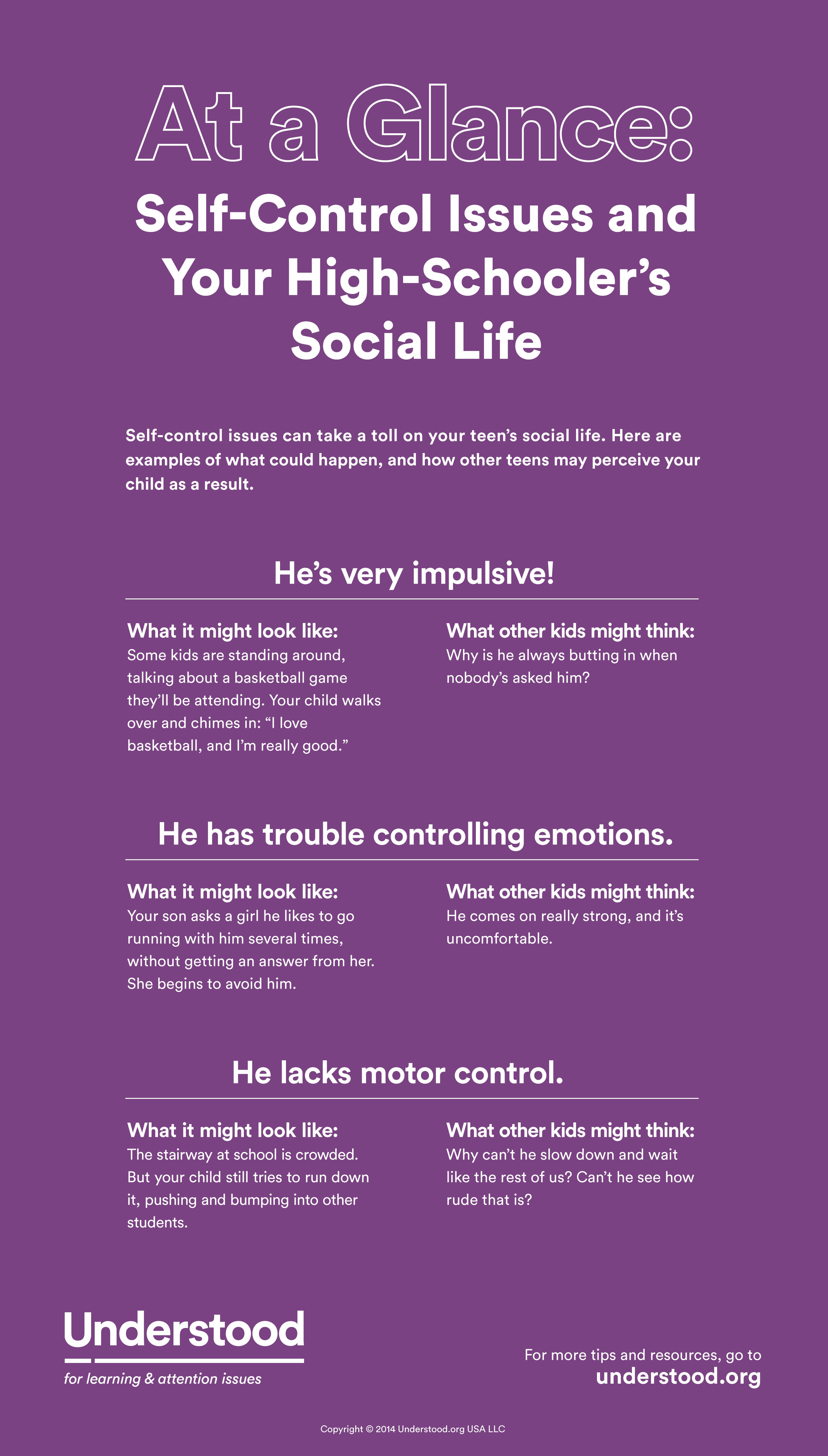 How To Help High Schoolers Gain Self Control
