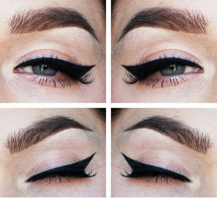 maquillaje pin up ojos paso a paso