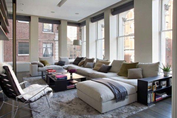 Renovated 3400 sq ft Loft in NY, NY | design by Axis Mundi ...