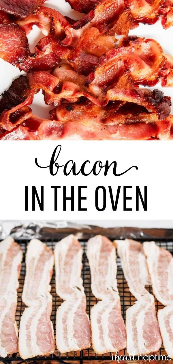 Photo of The EASIEST Way to Cook Bacon in the Oven – I Heart Naptime