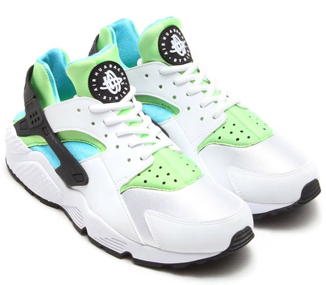 newest collection f3599 eeb0e Nike Huarache Clearwater Flash Lime   Sole Collector