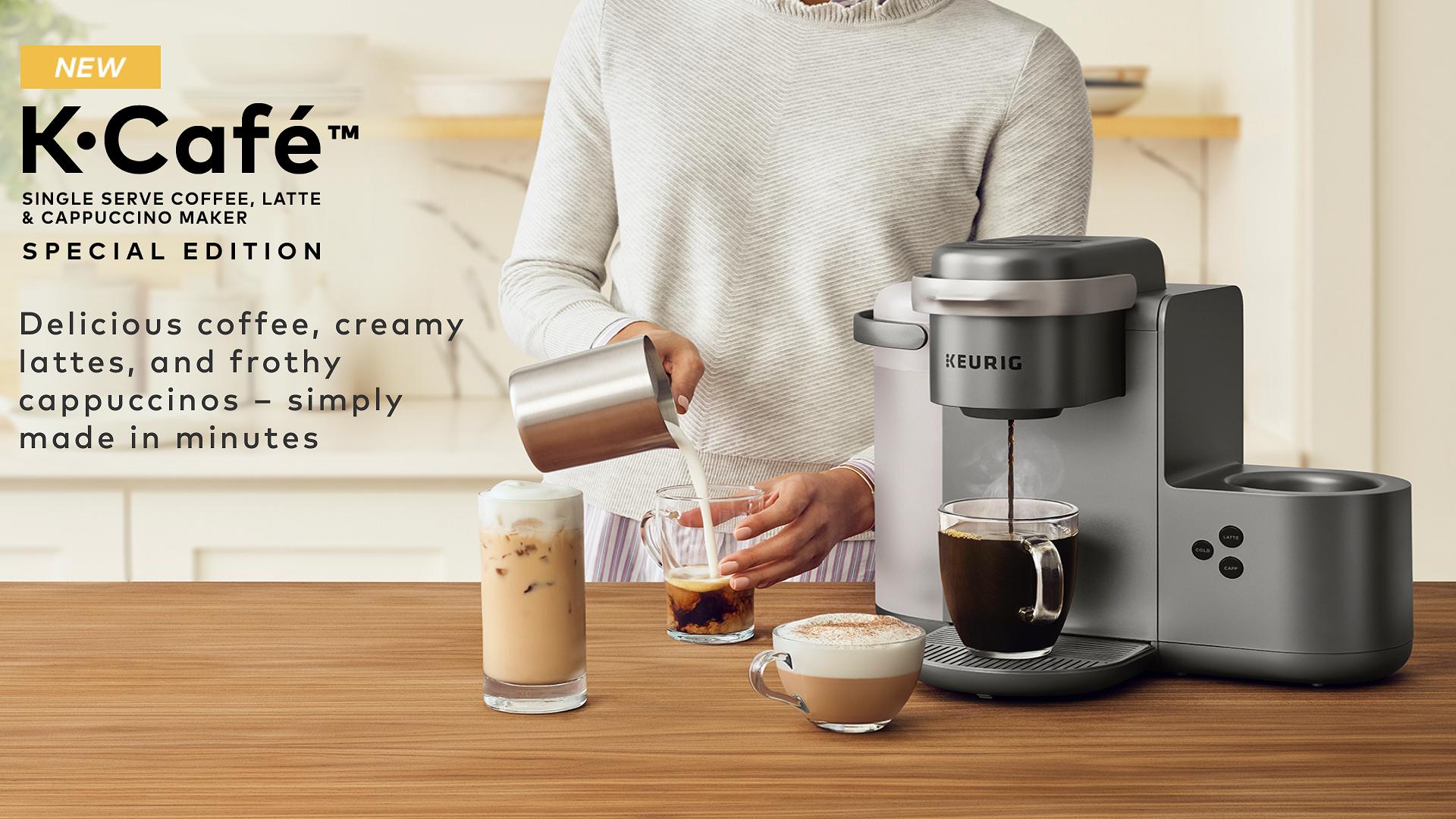Keurig® KCafé™ Special Edition Single Serve Coffee, Latte