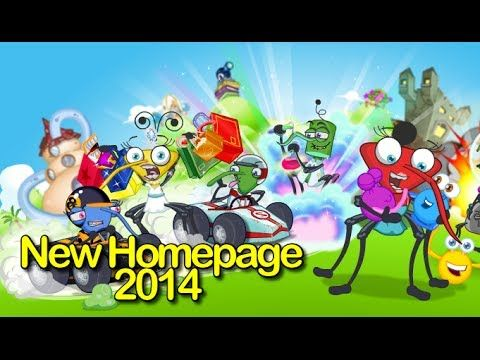 Watch my new video about the new Bin Weevils homepage and sign up page!