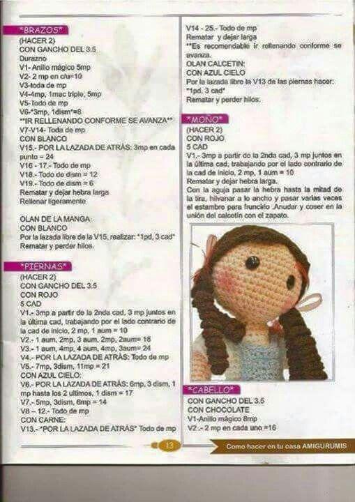 Pin von Ruth Bross auf amigurumi/dolls | Pinterest | Puppen ...