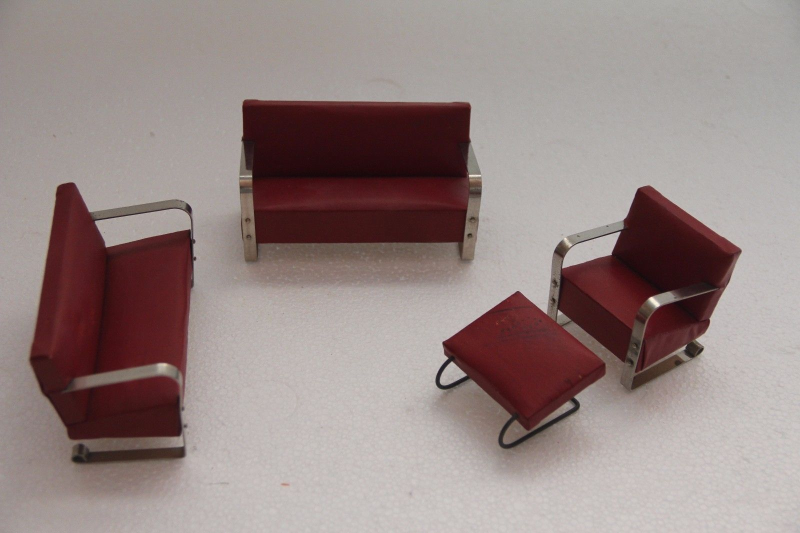 Miniature Midcentury Modern Furniture Classics In Plan Toys