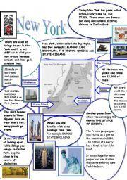 English worksheet: NEW YORK | Teaching english grammar ...