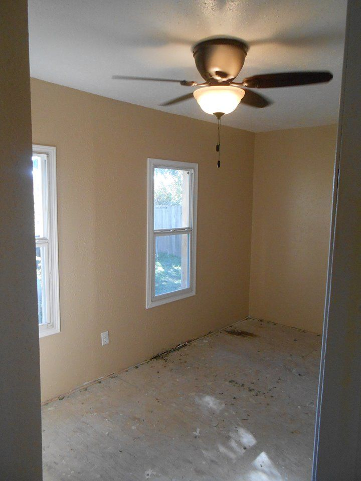 Unfinished Basement Family Room