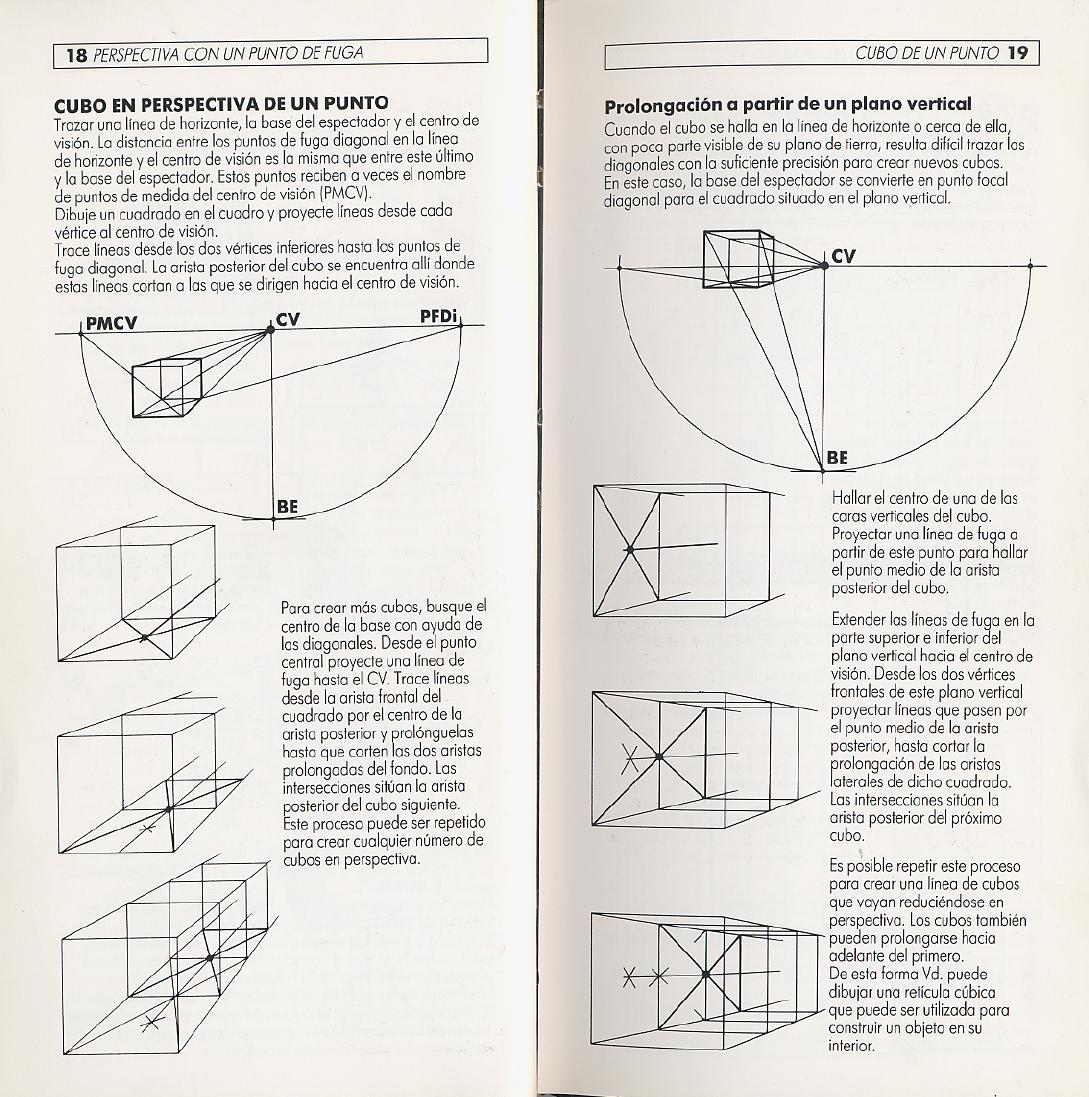 La Perspectiva En El Dibujo Mark Way Documents Ll La  # Muebles Dibujo Arquitectonico