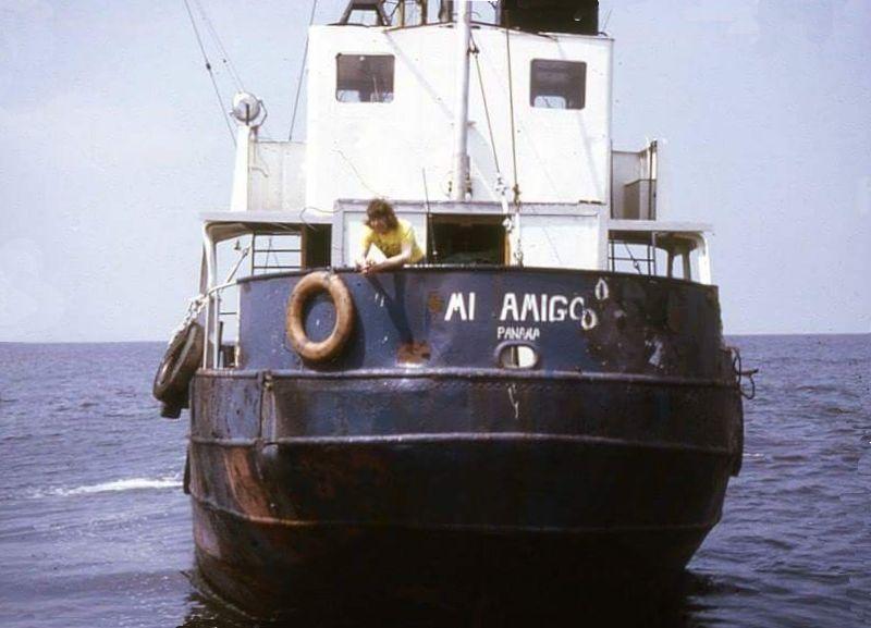 Mi-Amigo pictured in the 1970's | Radio