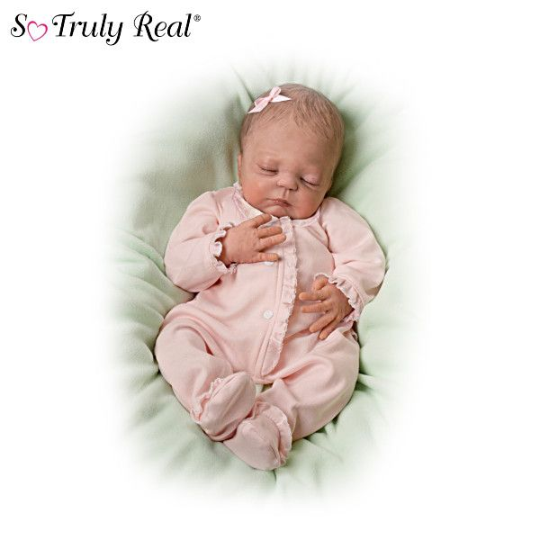 Sweet Dreams Sweet Pea Baby Doll By Violet Parker Dolls
