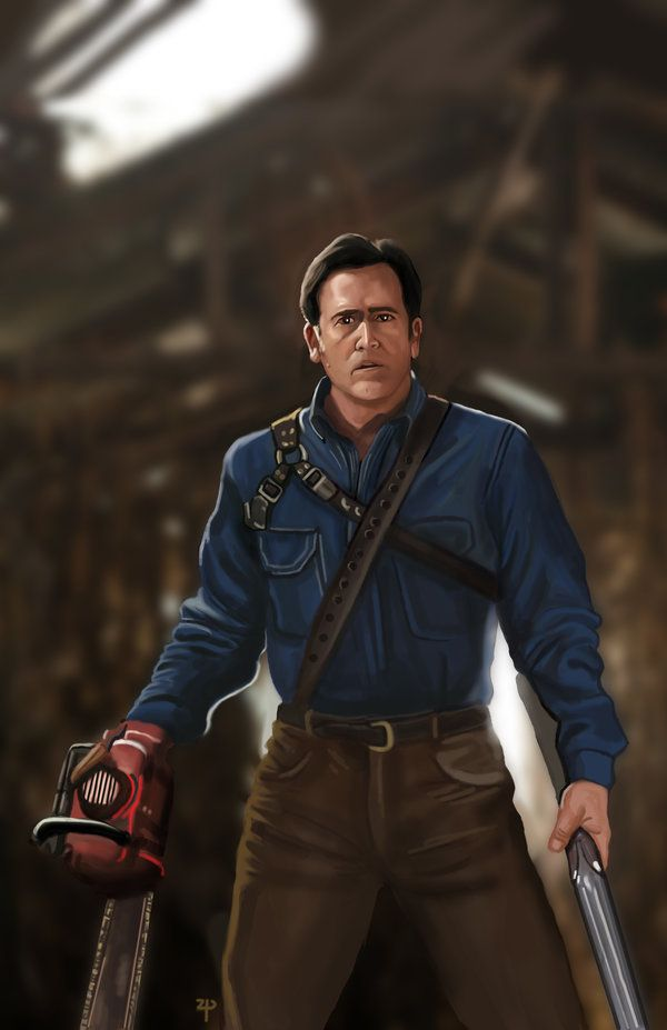 Pin by 💀Maggie💀 on HORROR | Ash evil dead, Bruce campbell