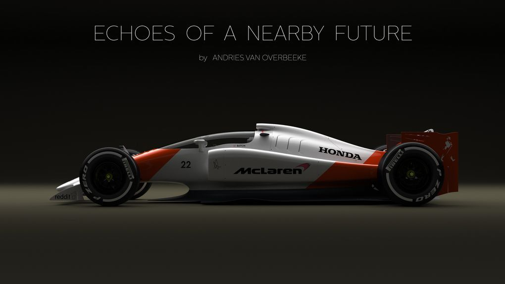 This Crazy F1 Concept Car Could Save Open Wheel Racing Concept