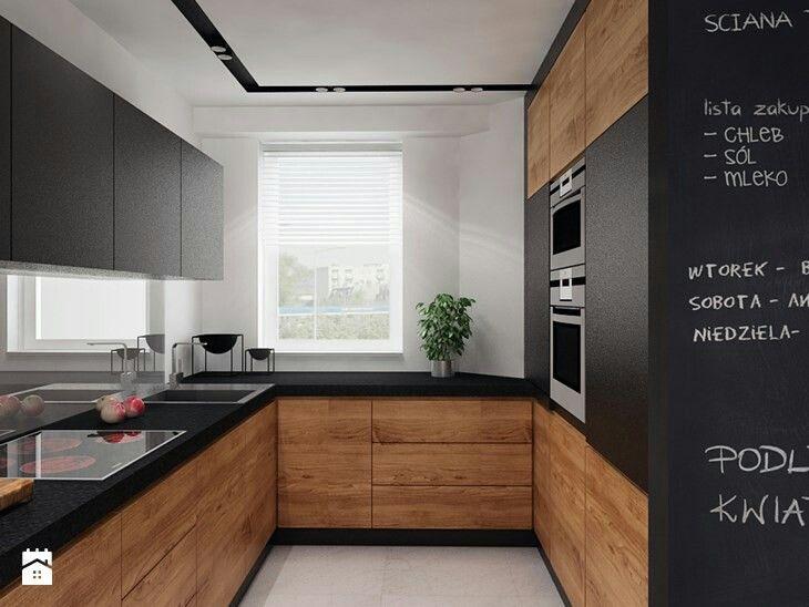 Cuisine bois et ardoise cuisine en 2019 plan de travail cuisine plan de travail et cuisines - Cuisine bois et ardoise ...
