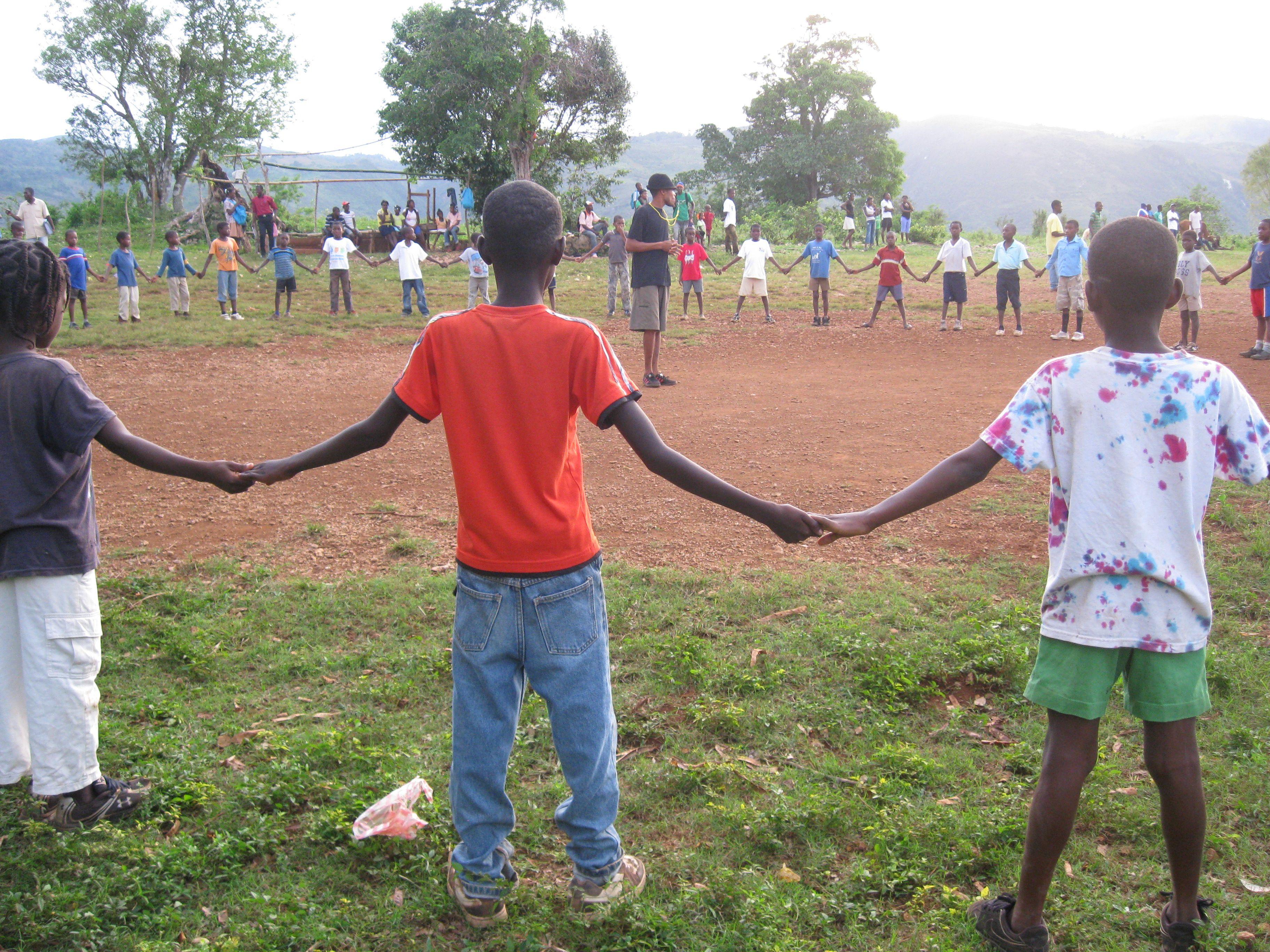 Teamwork Cooperation Community Development Through