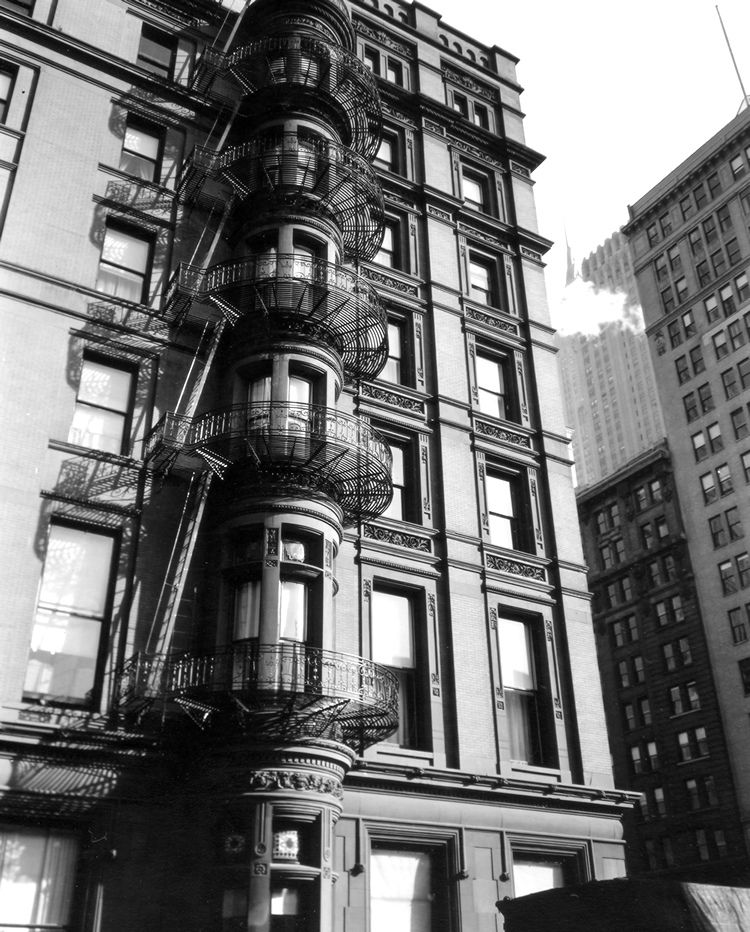 berenice abbott photography   Murray Hill Hotel #2, Manhattan - 1935, NYPL482741 from New York Times ...