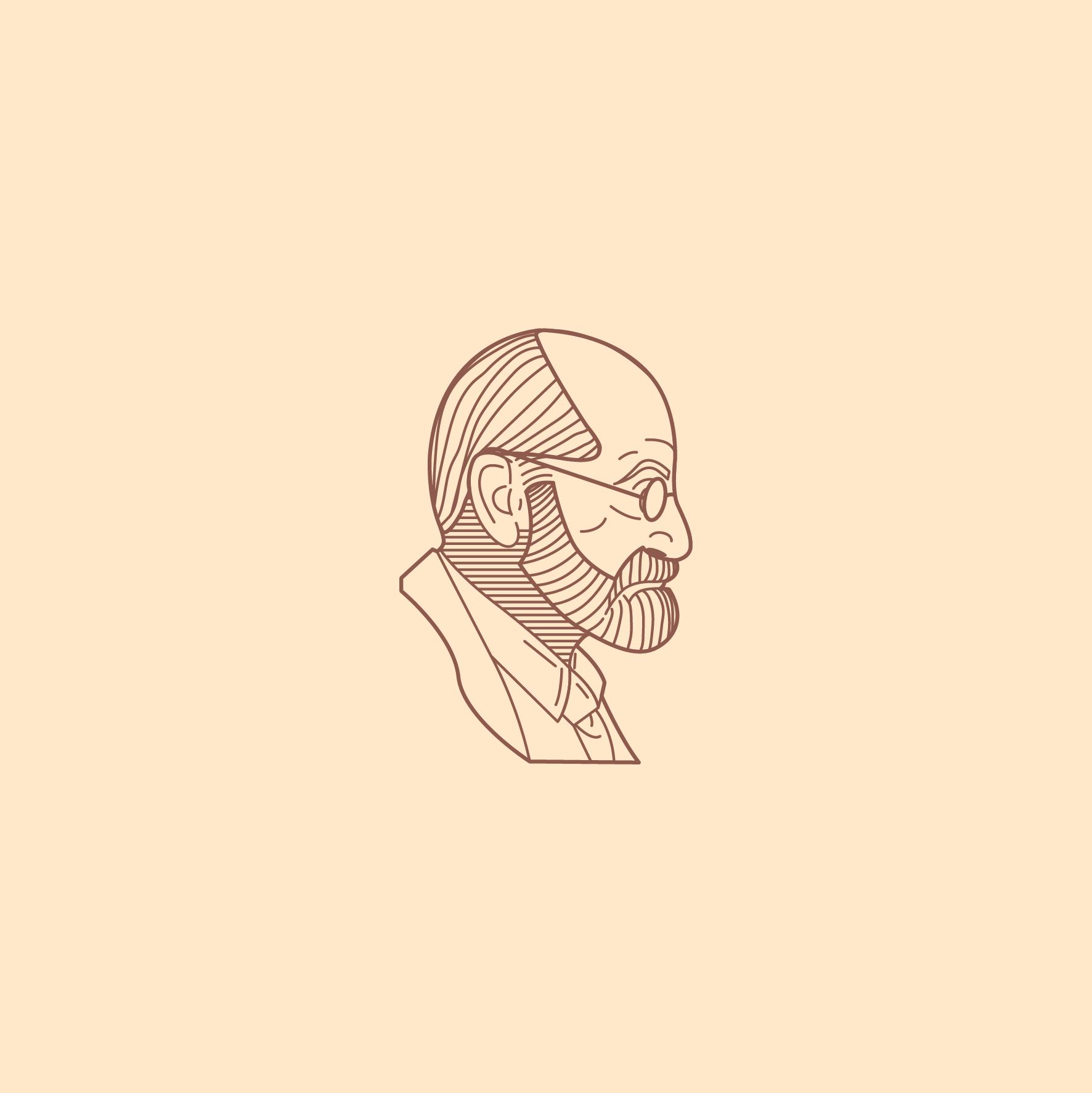 Freud_Retratos em Linhas www.gustavoestevao.com.br