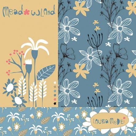 Laura | Make It In Design | Summer School 2016 | Honest / Meadow Land | Intermediate Creative Brief 1 | Surface Pattern Design