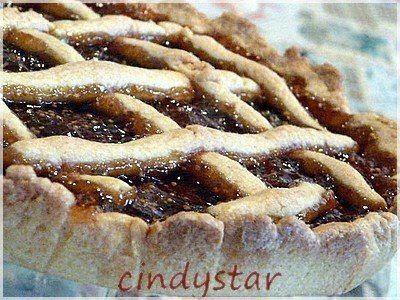 Cindystar: Crostata di marmellata