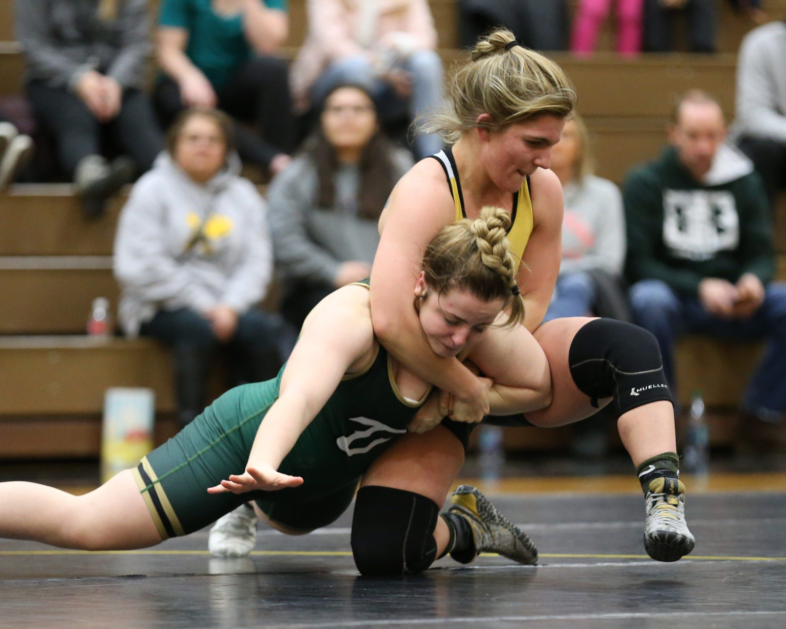 Adrian College: Home of the first ever women's college wrestling national meet