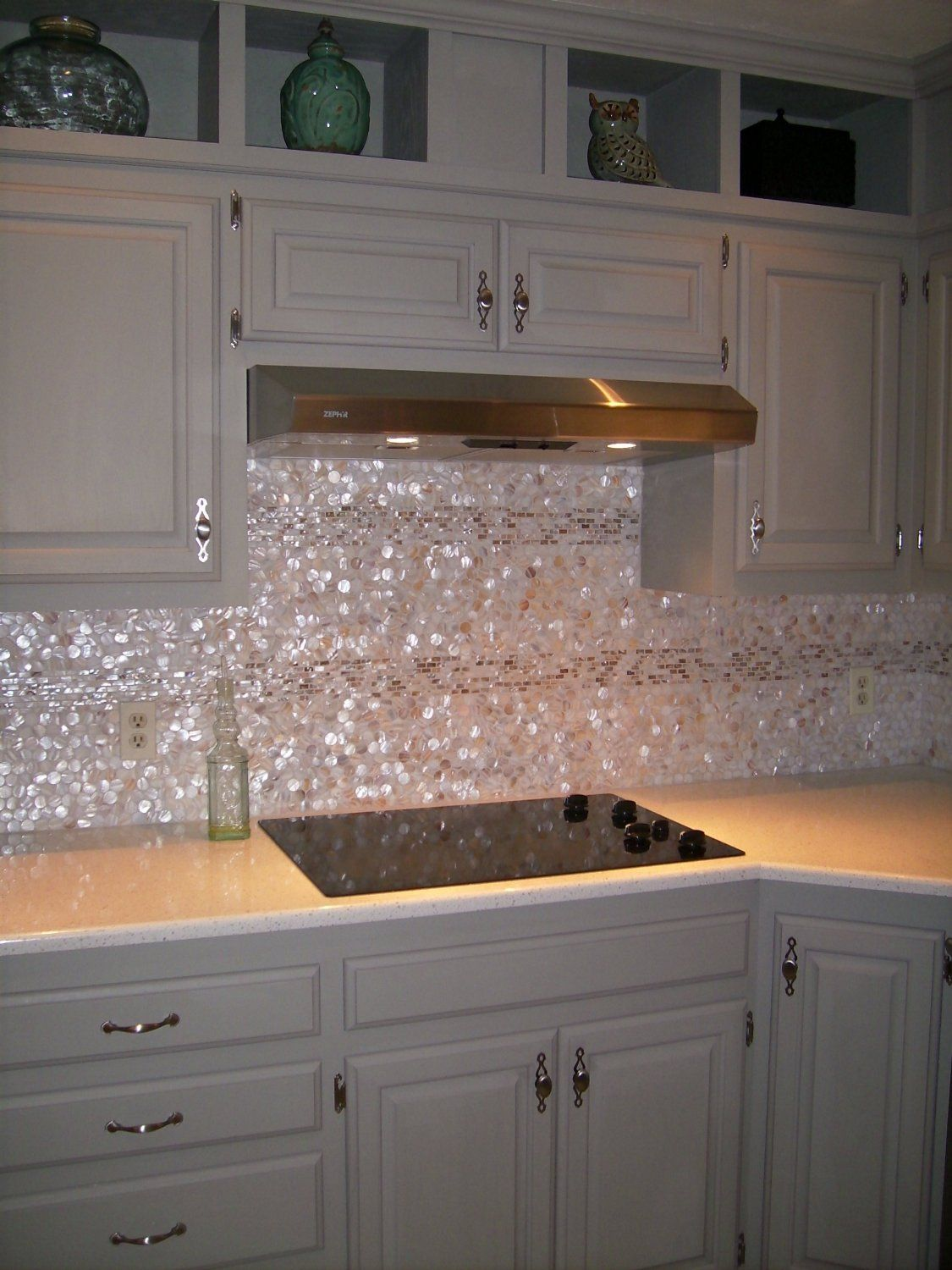 Genuine Mother Of Pearl Shell Tile Natural Varied 1