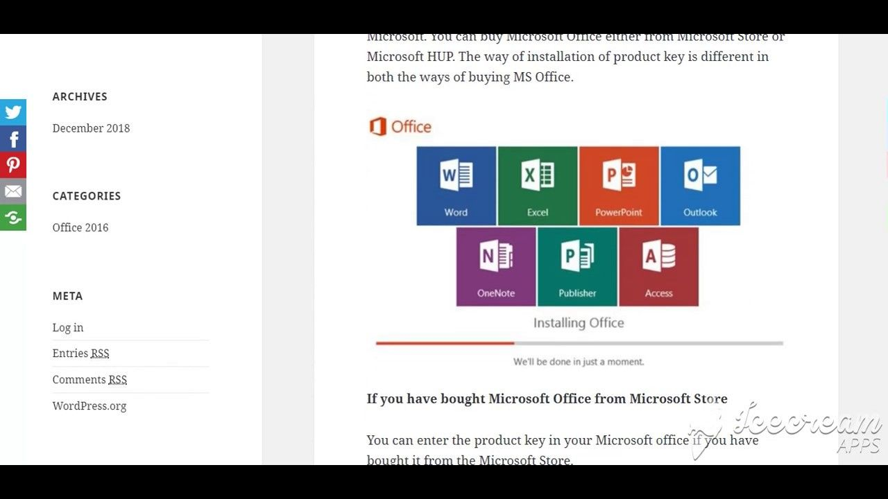 How To Use Microsoft Office 2016 Product Key With Office Microsoft Office Microsoft Words