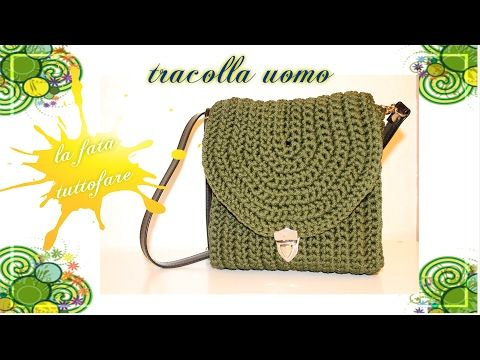 Tutorial: borsa estiva anni '70 YouTube   Crochet: bags