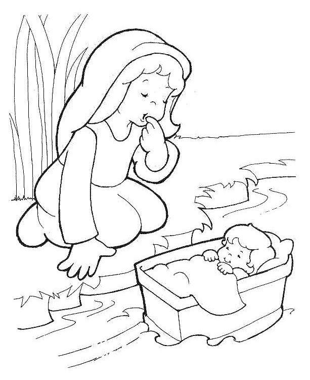 Dibujos Cristianos Para Colorear: Historias de la Biblia para ...