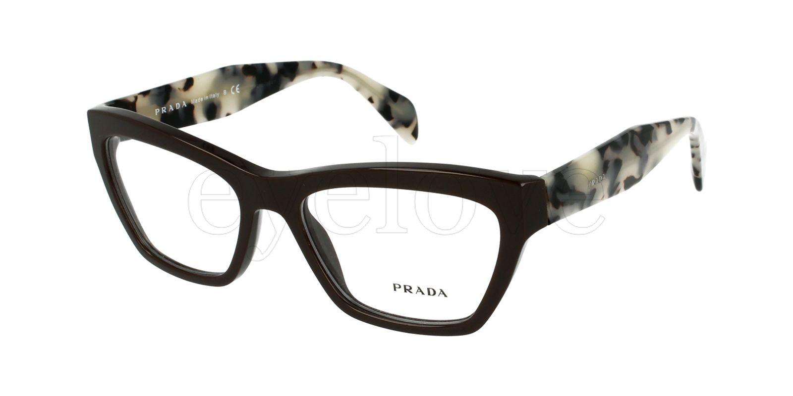 Prada | Frame: VPR14Q Colour: DHO-101 | Eyewear fun... | Pinterest ...