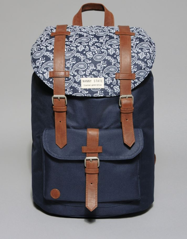 Nanny State Double Buckle Backpack - BANK Fashion  ecc53633be734